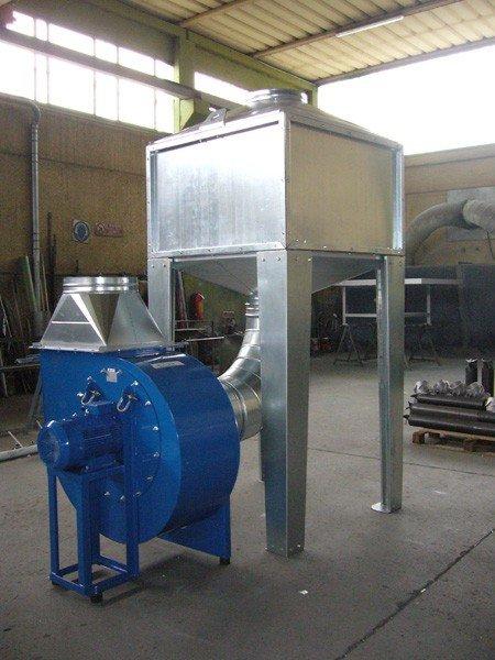 Filtri polveri industriali, filtri industriali  Silam Snc
